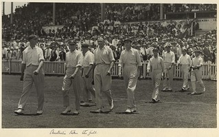 Australian test cricket team in Brisbane, 1928