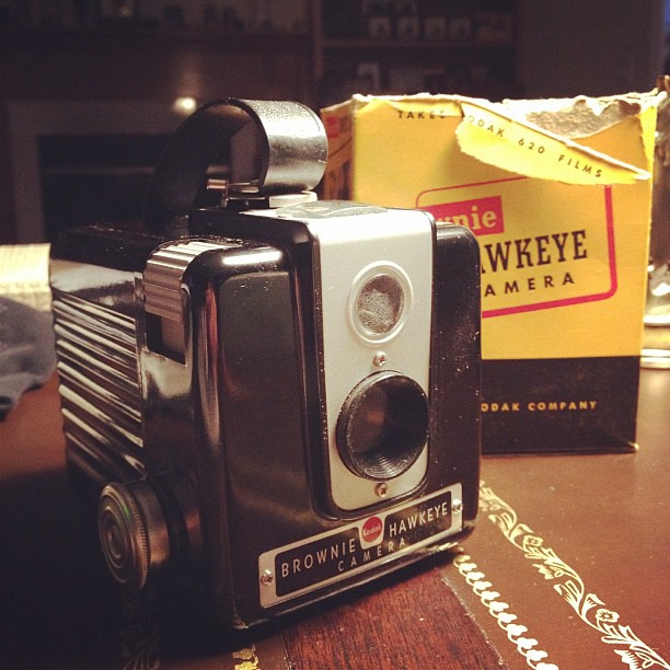 25/365+1 New Toy for Me! #kodakbrownie #vintage #hawkeye #camera