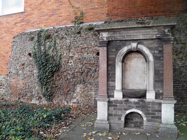 North Gate, Roman Wall, Camulodunum (Roman Colchester)