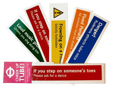 Cheer up The Tube Stickersfrom Look Mum No Hands