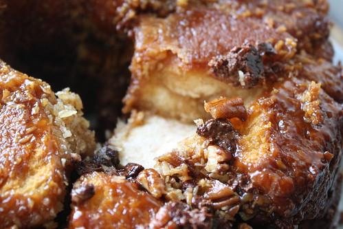 German Chocolate Monkey Bread