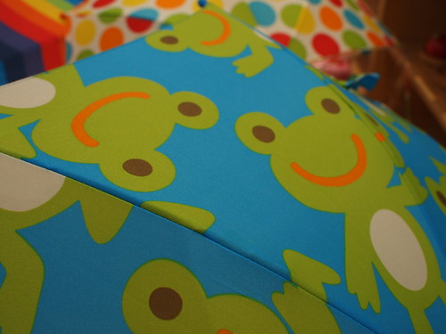 子ども用の傘_カエル