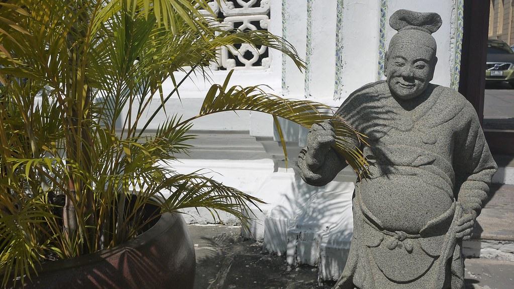 Leafy Statue