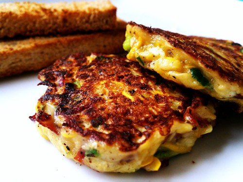 Zucchini and Cheese Patties