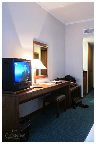 metropark hotel room