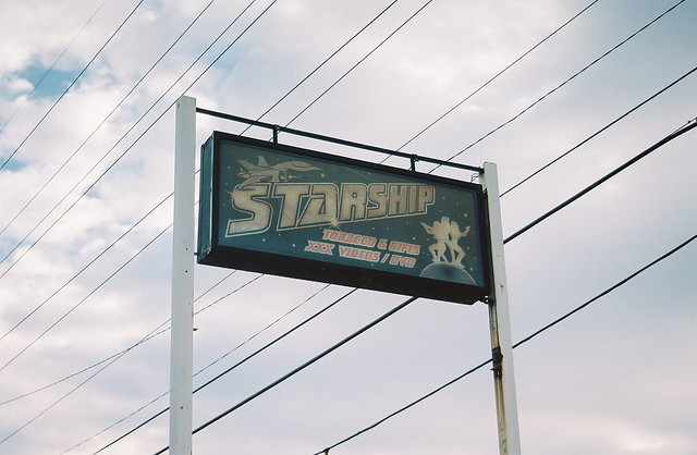 Starship. There is no shortage of adult stores in Georgia.