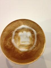 Today's latte, COOKPAD!