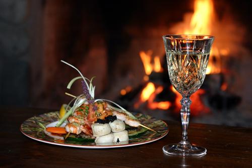 Siwash Lake Ranch fine cuisine