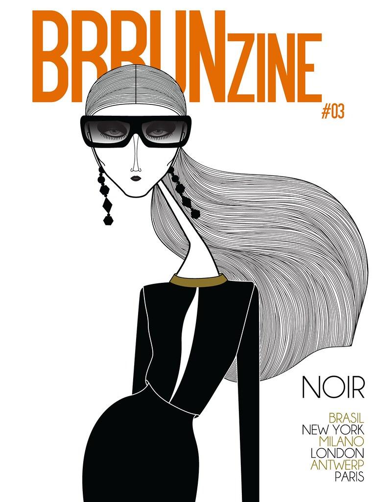 "BRRUNzine #03 — ""Noir"" by Leandro Dário —  Creative Director: Bruno Capasso — Pavlova wears Lanvin Spring Summer 2012"