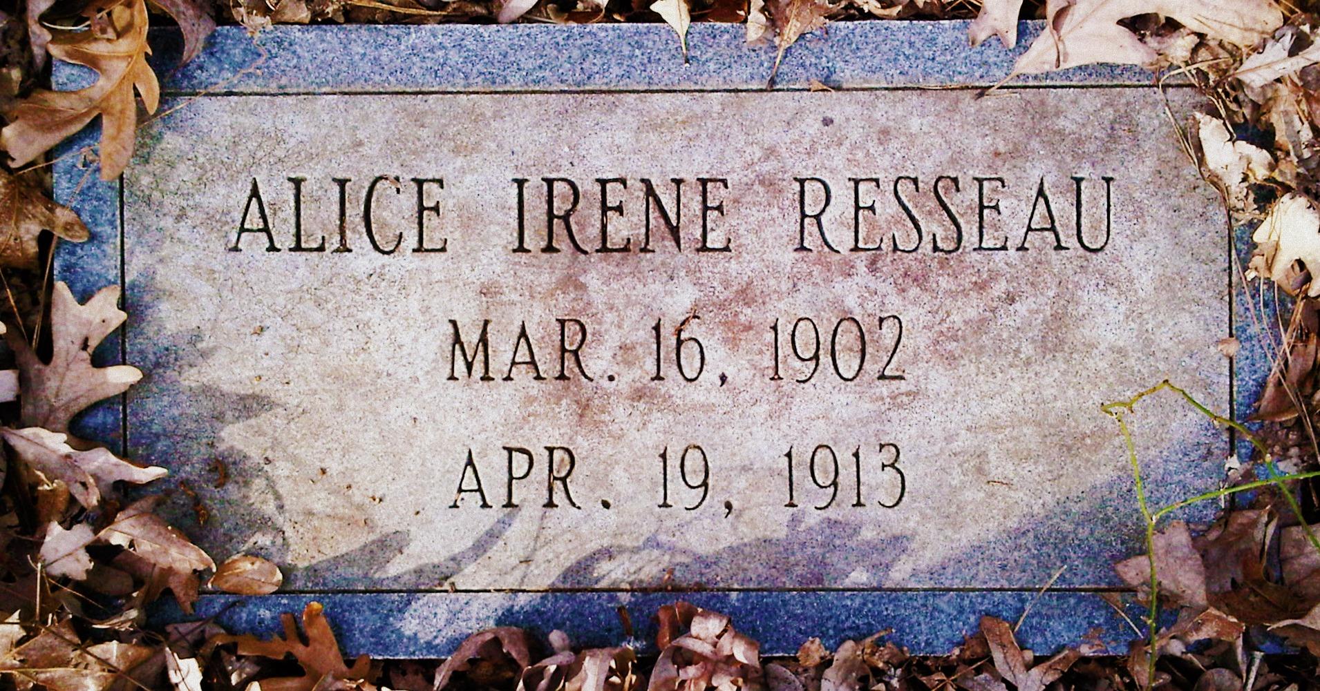Alice Irene Resseau