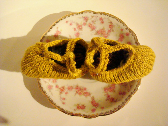 yellow booties 2