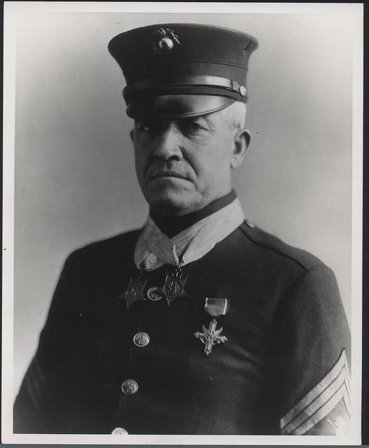 Sergeant Major Daniel Joseph Daly from Flickr via Wylio