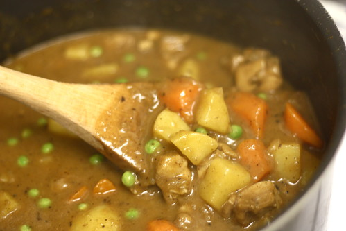 Hearty Japanese curry