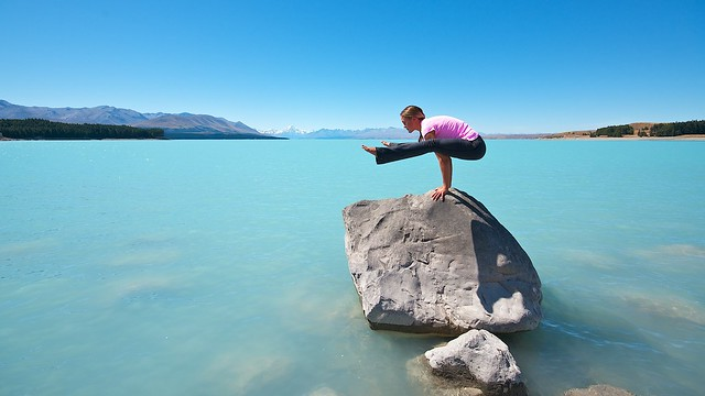 Lake Pukaki Yoga
