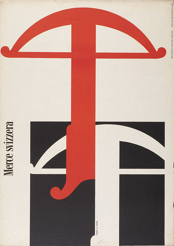 Carlo Vivarelli poster from '100 Years of Swiss Graphic Design'