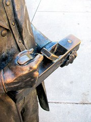 Thomas Day Statue 4--Holding a Planer
