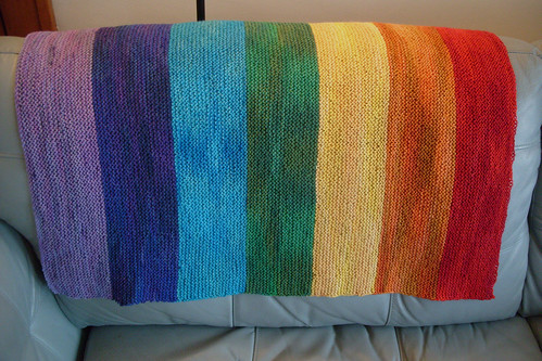 rainbows and babies! by gradschoolknitter