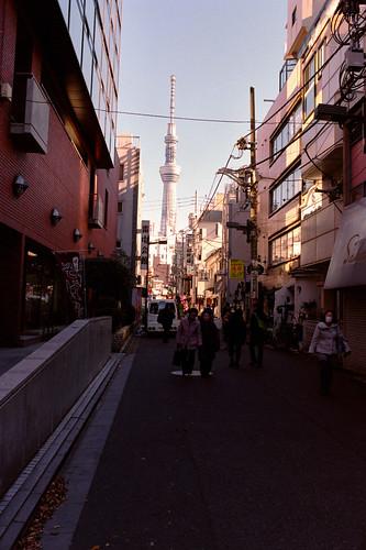 Back street in Asakusa.