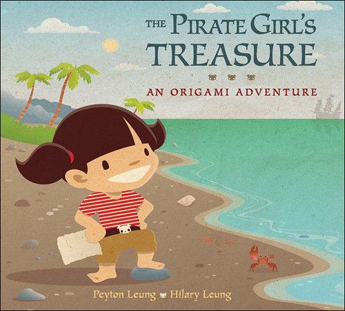 The Pirate Girl's Treasure - An Origami Adventure