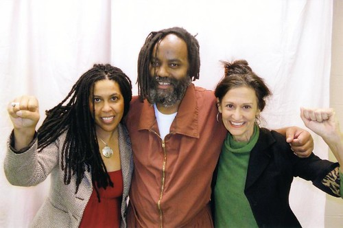 Mumia Abu-Jamal is off death row and in general population in the Pennsylvania correctional system. Occupy the Justice Department is demanding his release. Photo was taken on February 2, 2012. by Pan-African News Wire File Photos