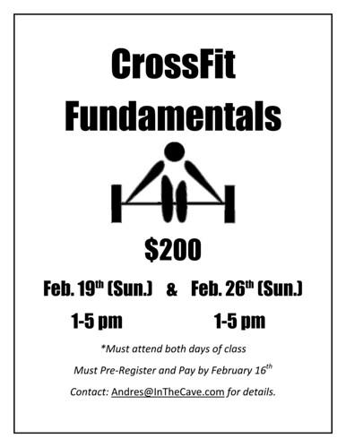 Crossfit Fundamentals_SF