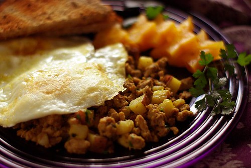 Healthier Hash – Ground Turkey Hash