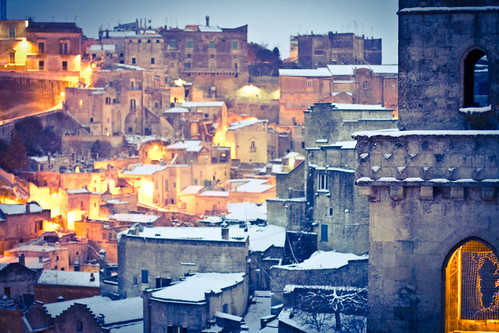 6836847507 84e44bda56 Lessenza della bellezza unesco snow neve matera foto flickr