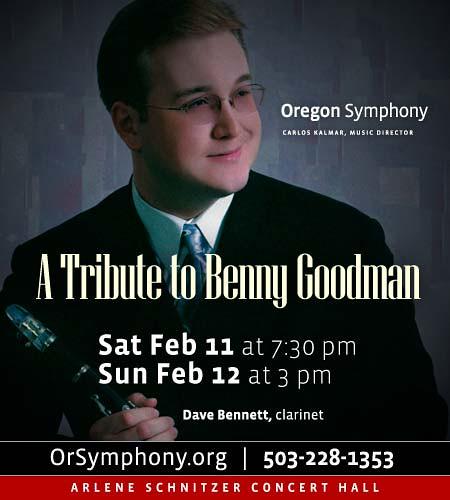 Benny Goodman @ Oregon Symphony