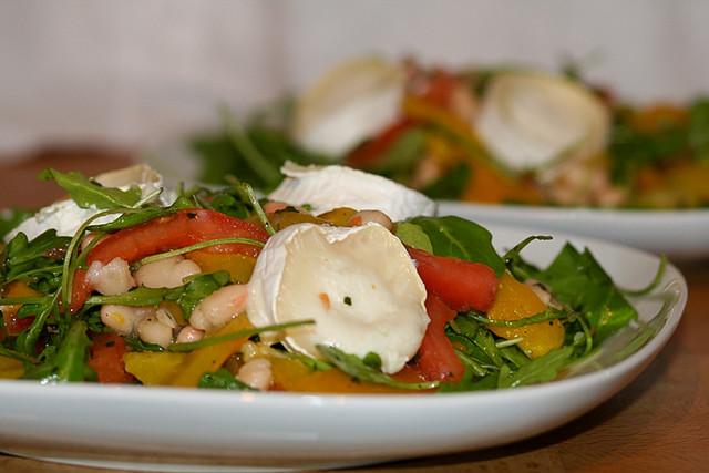 диетический салат на ужин