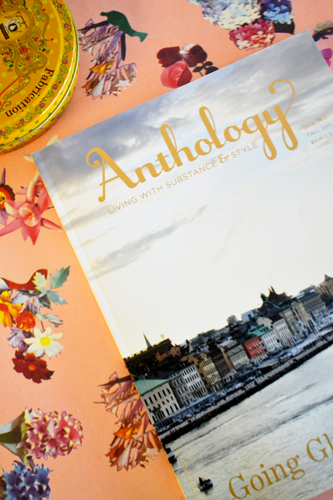 Anthology magazine Fall 2011