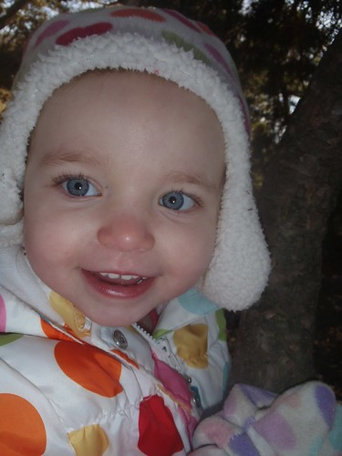 Lilah at the park in Feb!