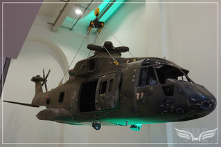 AUGUSTAWESTLAND AW101 HELICOPTER MODEL FROM SKYFALL @ LONDON FILM MUSEUM COVENT GARDEN