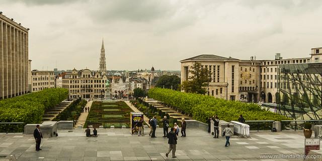 Jardin Mont des Arts