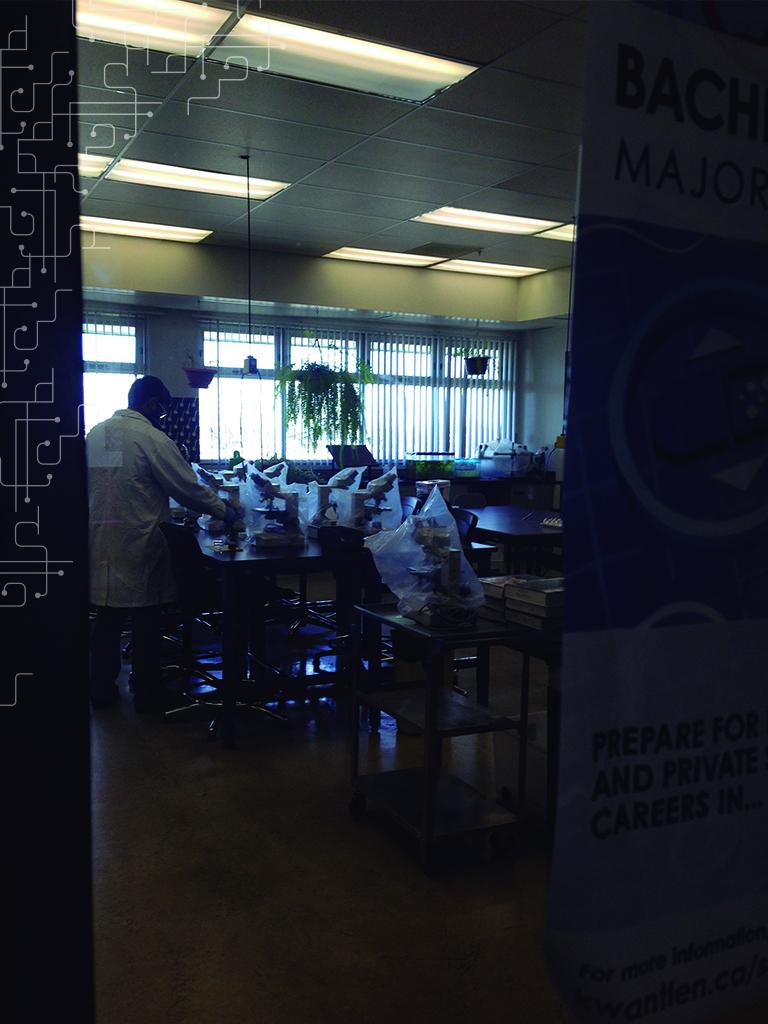 Laboratório de Biologia da KPU