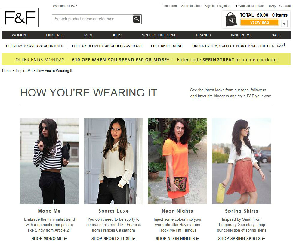 F&F front page