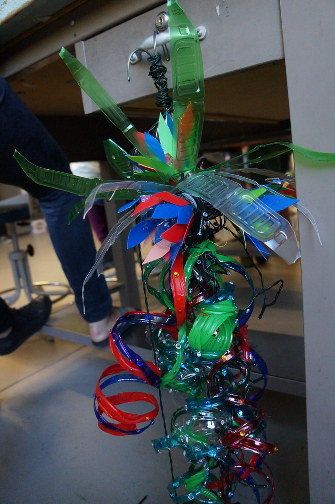 Student-created, Sustainable Light Sculptures
