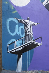 Rio de Janeiro graffiti, street art, murals