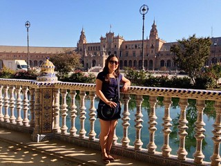 Eliane Lina Kishi, Madrid e Sevilha