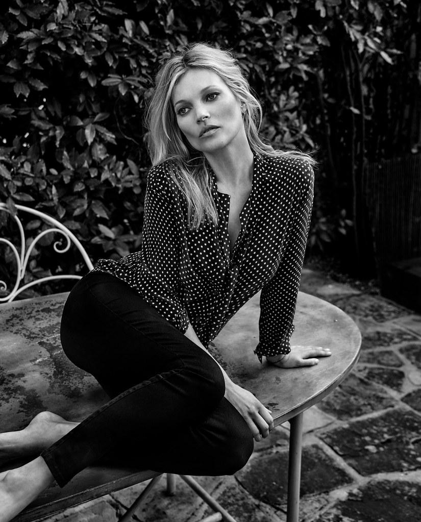 Кейт Мосс — Фотосессия для «The Edit» 2016 – 5