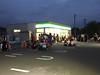 Photo:日没してしまった。 :-( もう少し回復しないと、第2休憩所が閉鎖されるな。 (@ ファミリーマート 野原五明店 in 比企郡ときがわ町, 埼玉県) By cyberwonk
