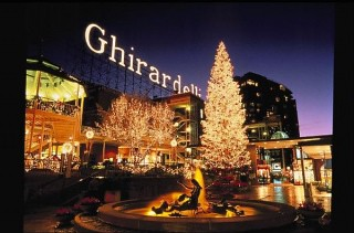Ghiradelli Square Tree Lighting Ceremony
