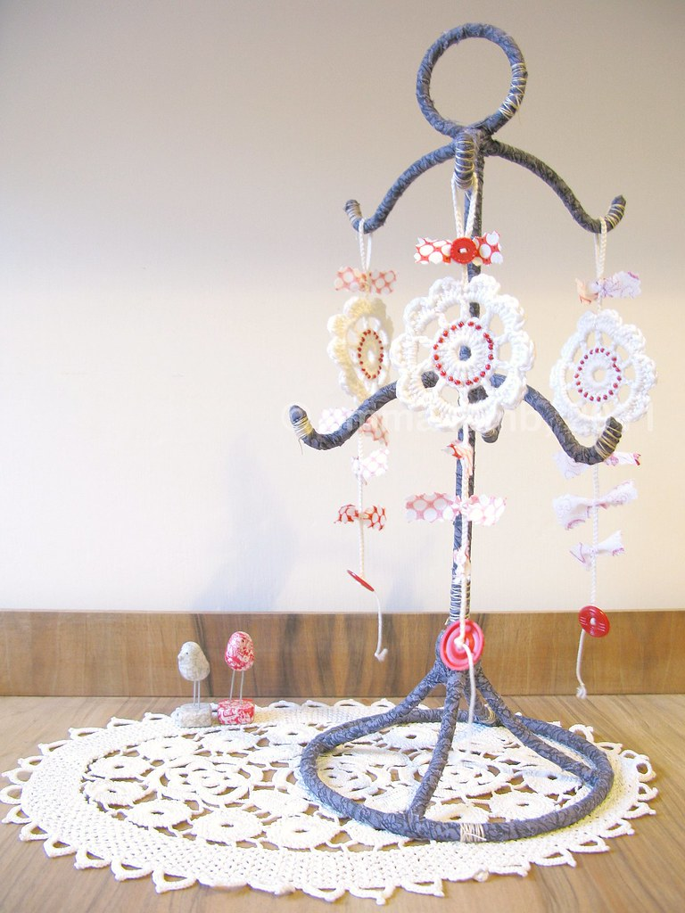 A silly charm tree... finished! | Emma Lamb