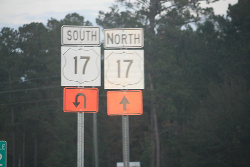 US 17 shields from another era