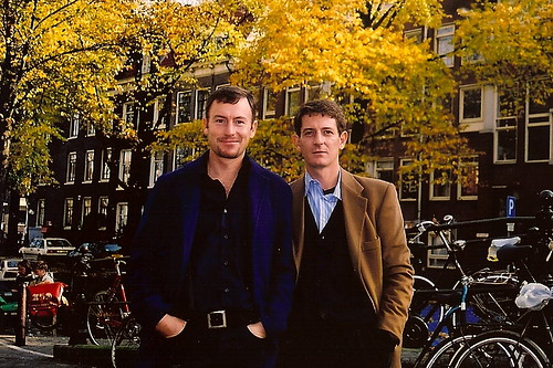 Me and my brother - in Amsterdam by CharlesFred