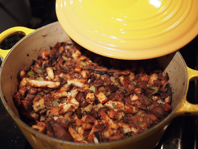 Wild Mushroom, Chestnut and Sausage stuffing