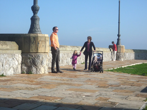 Erik, Nora and Betsy in Castro Urdiales