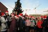 Weihnachtsbaumschmücken vor dem KSM
