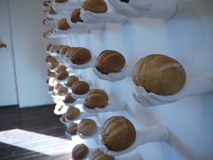 Rows of bread in My Offering