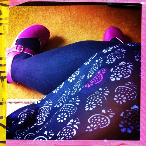 New ugglebo clogs & #marimekko dress combo