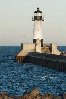 Duluth North Pier Lighthouse - Fall 2011